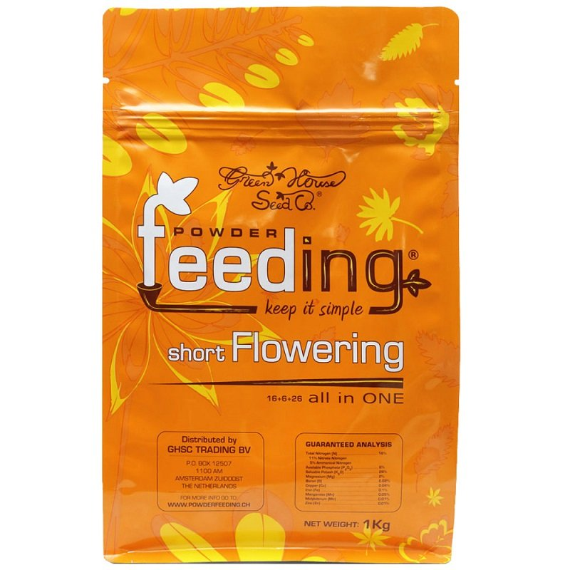 Green House Feeding - Short Flowering 1kg