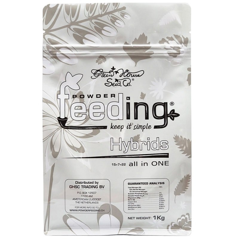 Green House Feeding - Hybrids 1kg
