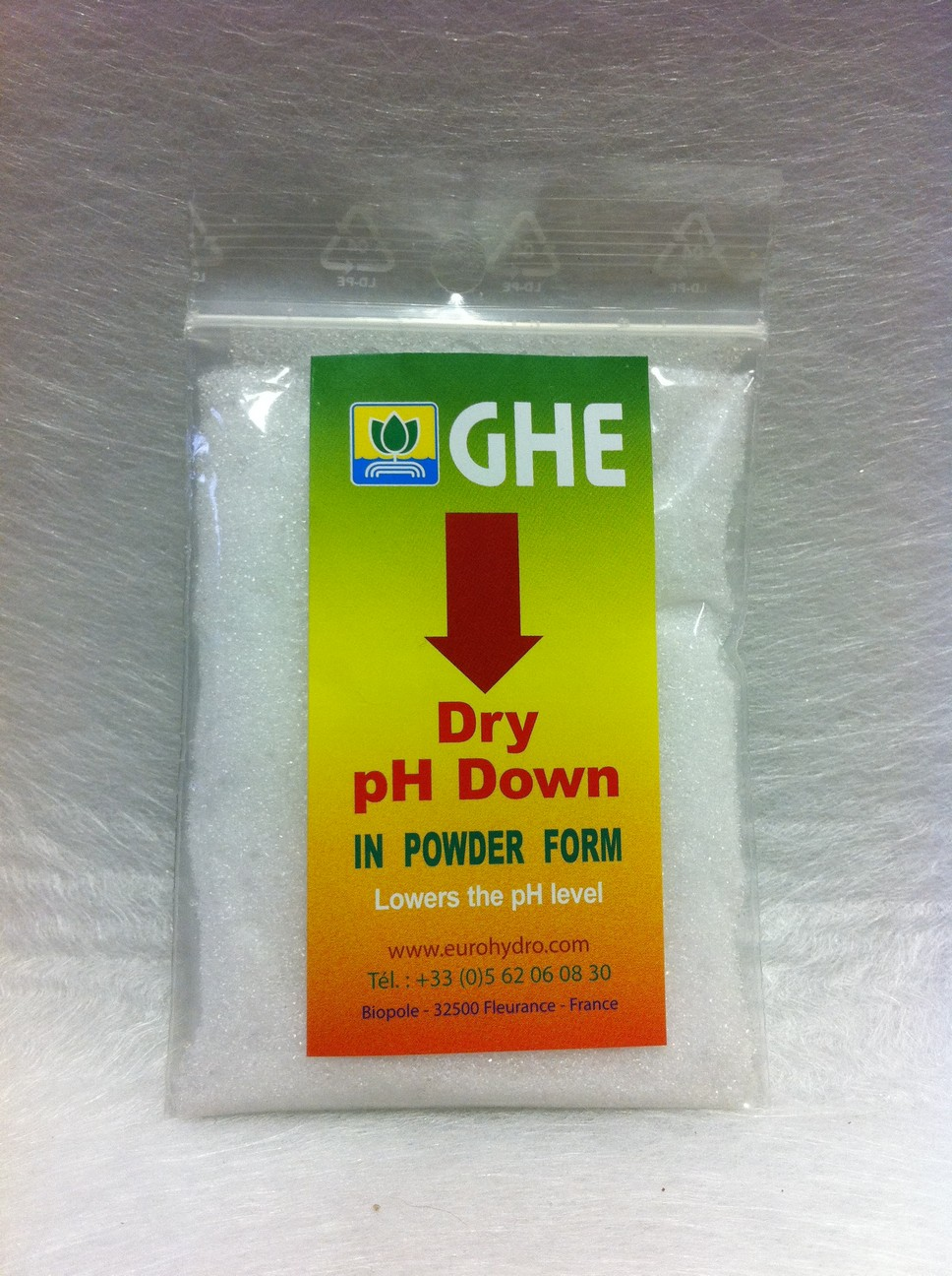 GHE Dry pH Down 25g