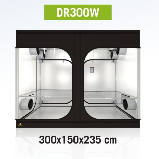 Dark Room 300 Wide Rev 3.0, 300x150x235cm