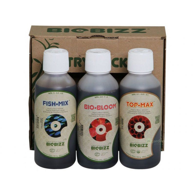Biobizz Trypack Outdoor 3x250ml